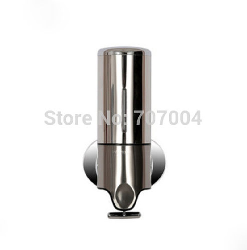 Гаджет  Promotion Free Shipping Stainless Steel 500ml Lition Soap Dispenser Wall Mounted None Дом и Сад