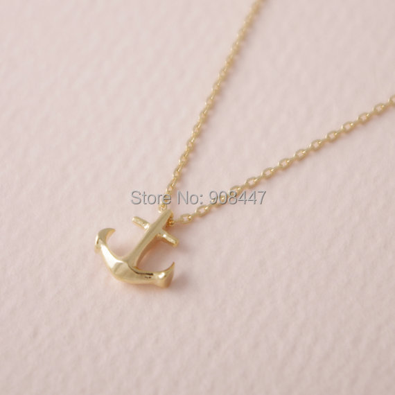 anchor necklace womens images
