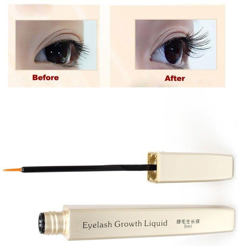 Rapid Eye lash Growth liquid Serum -Enhancer- Thicker Longer Eyelashes Eyebrows Eyes Care Makeup(China (Mainland))