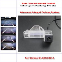 Buy Rear Camera Citroen C4 2012 2013 Intelligent Parking Tracks Backup Reverse / 580 TV Lines Dynamic Guidance Tragectory for $43.68 in AliExpress store