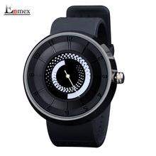 2016 men's gift Enmex men women creative black fire design wristwatch breathe freely strap sports casual fashion quartz watches(China (Mainland))
