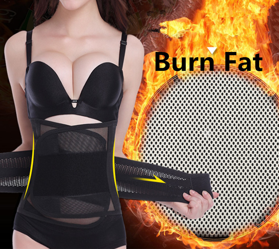 Waist Trimmer For Women Postpartum Corset Belt Make Hot Fat Burn Slimming Belly Waist Trainers Girdles Body Shapers Black Beige(China (Mainland))