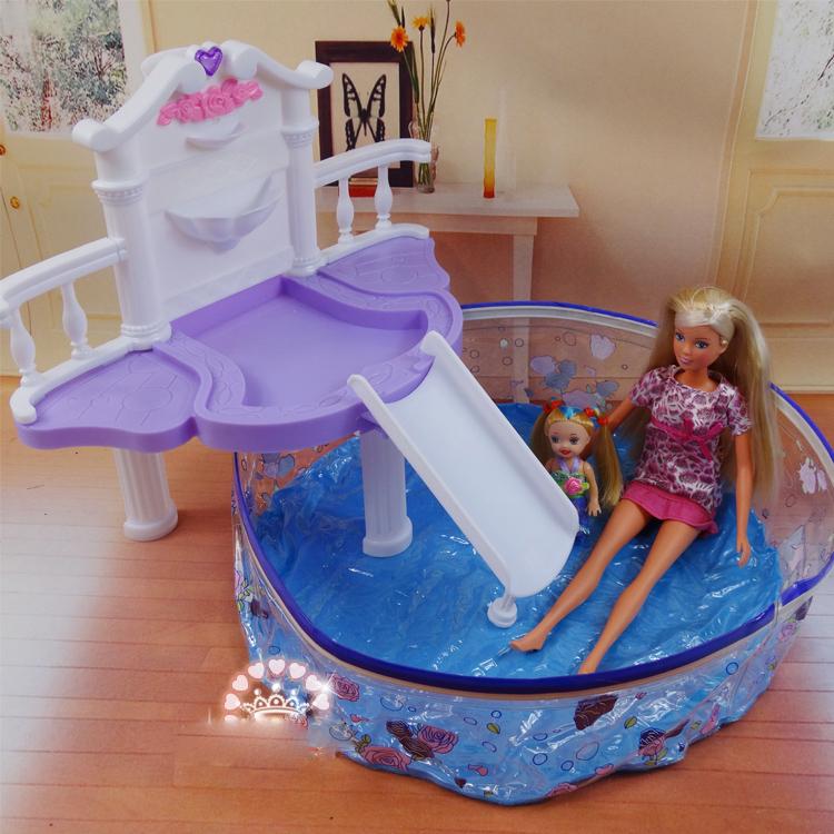 Online kaufen gro handel barbie swimming pool aus china for Swimming pool ausverkauf