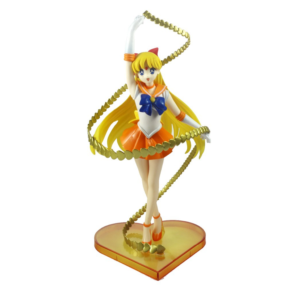 "Anime Sailor Moon Venus Aino Minago 7"" Action Figure Girls Toy New Loose(China (Mainland))"