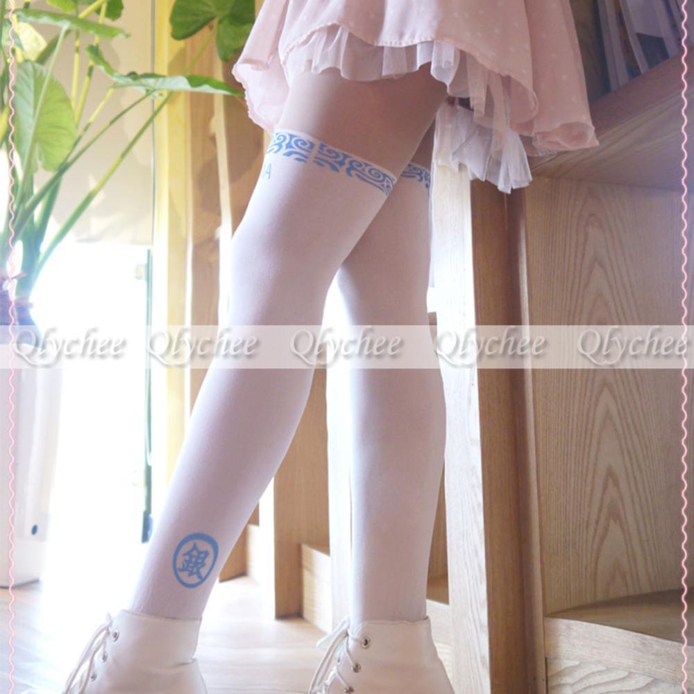 Последним япония женщины высокая длина джинтама волна воды татуировки колготки колготки бесплатная доставка