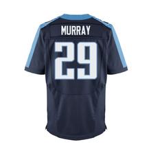 #8 Marcus Mariota Jerseys Adult #29 Demarco Murray Light Blue White Elite 100% Stitched Logos Jerseys Free shipping(China (Mainland))