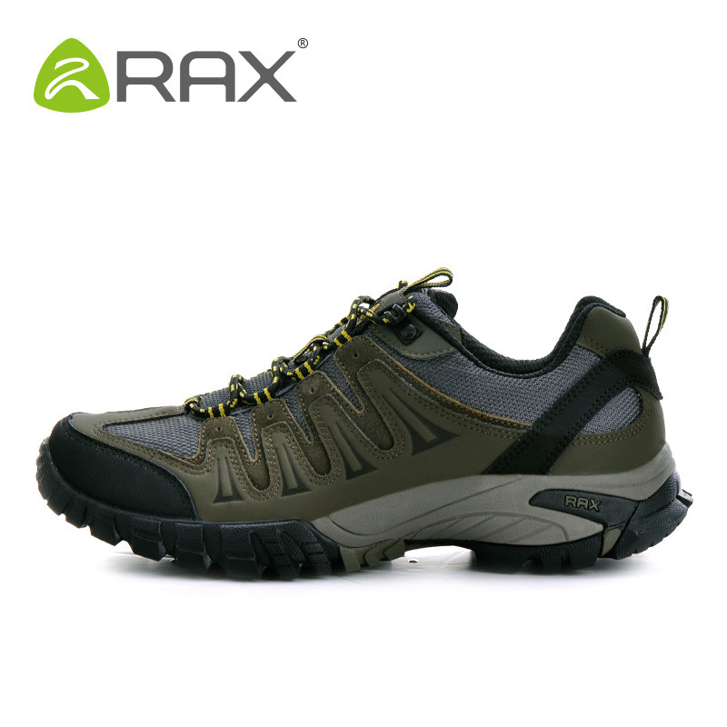 RAX Mens Hiking Shoes Waterproof Outdoor Sports Breathable Hiking Shoes Men Genuine Leather Walking Mountaineering Shoes Men <br><br>Aliexpress
