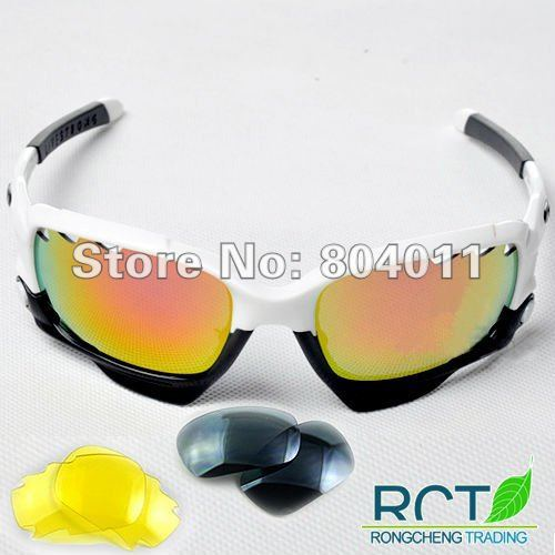 Free shipping! White|black New designer sunglasses sports sunglasses Three Group Eyeglass Colors