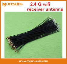 Fast free ship 5pcs/lot Bluetooth  built-in antenna gold-plated silver ipx head 2.4G wifi receiver antenna