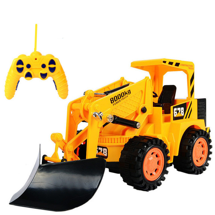 1:10 bulldozer,Engineering excavator vehicles,6 Channels Wireless remote control vehicle,Electric cars toys,free shipping(China (Mainland))