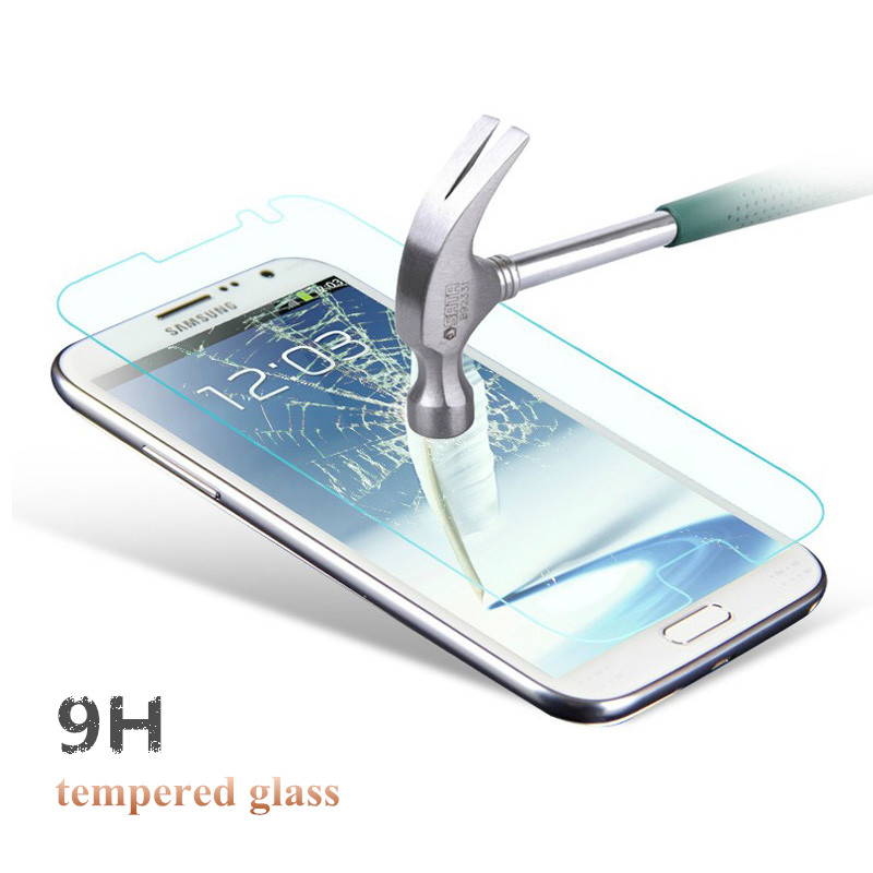 Toq 0.18mm 9H Premium Tempered Glass Screen Protector Protective Film For Samsung Galaxy Note 2 II N7100 With Retail Package PY