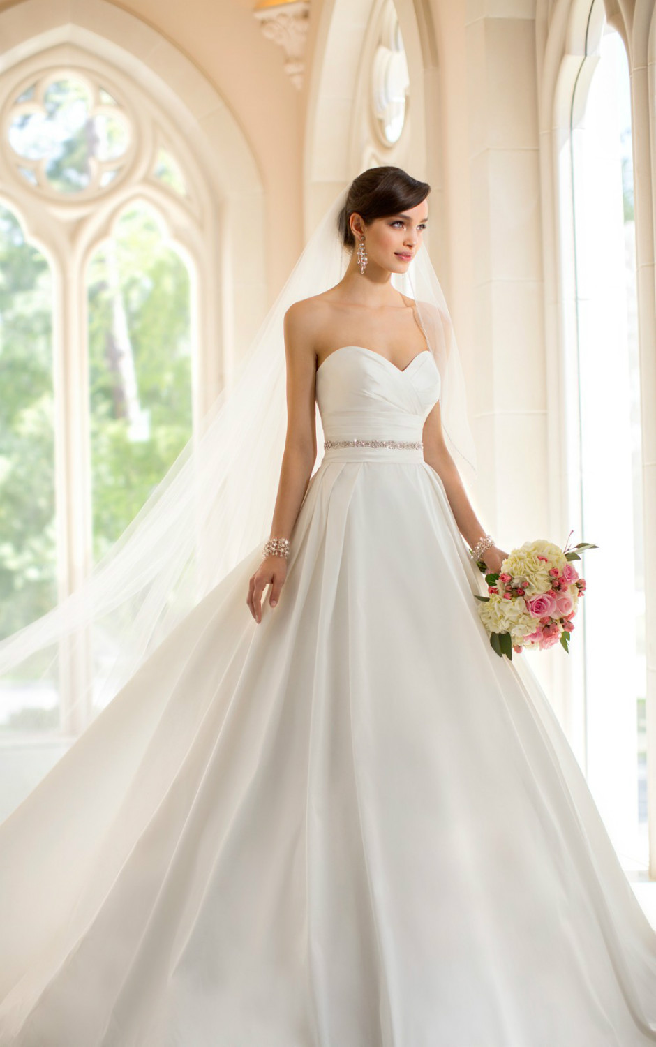 This french mikado designer ball gown from stella yorks is for Design my perfect wedding dress