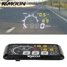 Kkmoon 5,5 ''X3 Auto HUD Head Up Display KM/h MPH Warnung OBD2 Schnittstelle Windschutzscheibe Projekt bluetooth Funktion Telefon PC(China (Mainland))