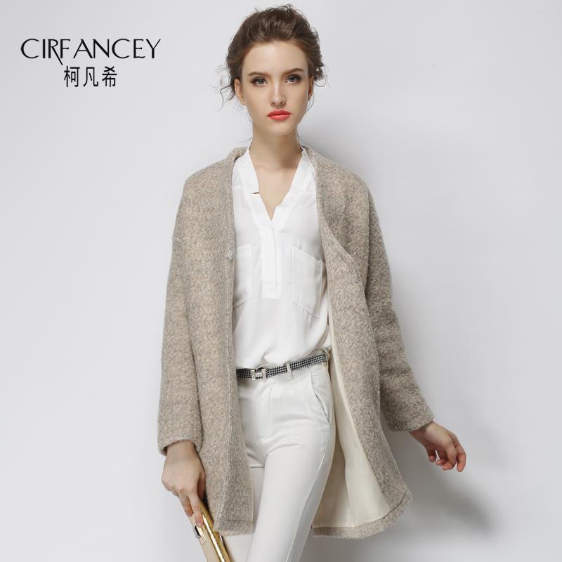 2015 New Women winter coat Fashion wool jacket medium-long design wool coat Sashes outerwear trench coat for women PH2512(China (Mainland))