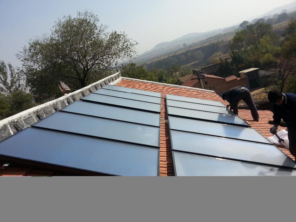 detachable solar water heater solar water heater flat plate solarcollector ; flat plate solar collector modular balcony solar(China (Mainland))