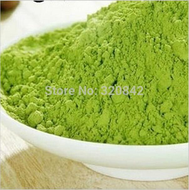 Premium 80g Matcha Powder Green Tea powder top grade 100% Natural Organic slimming tea reduce weight loss food raw materials(China (Mainland))