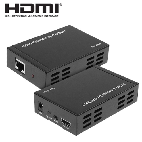 Full HD 1080P HDMI Extender Transmitter + Receiver One 100m CAT5E / CAT6 ( TCP IP )