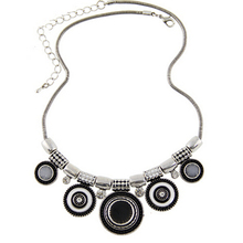 Women Choker Necklace Fashion Charms Rhinestones Chunky Statement Necklace Collares 2015 Jewelry