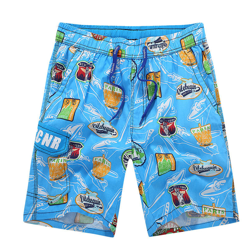 Men Beach Shorts Boardshorts Casual Swimming Trunks Drawstring Summer Classic Logo Quick Drying Surf Shorts Bermuda masculina(China (Mainland))