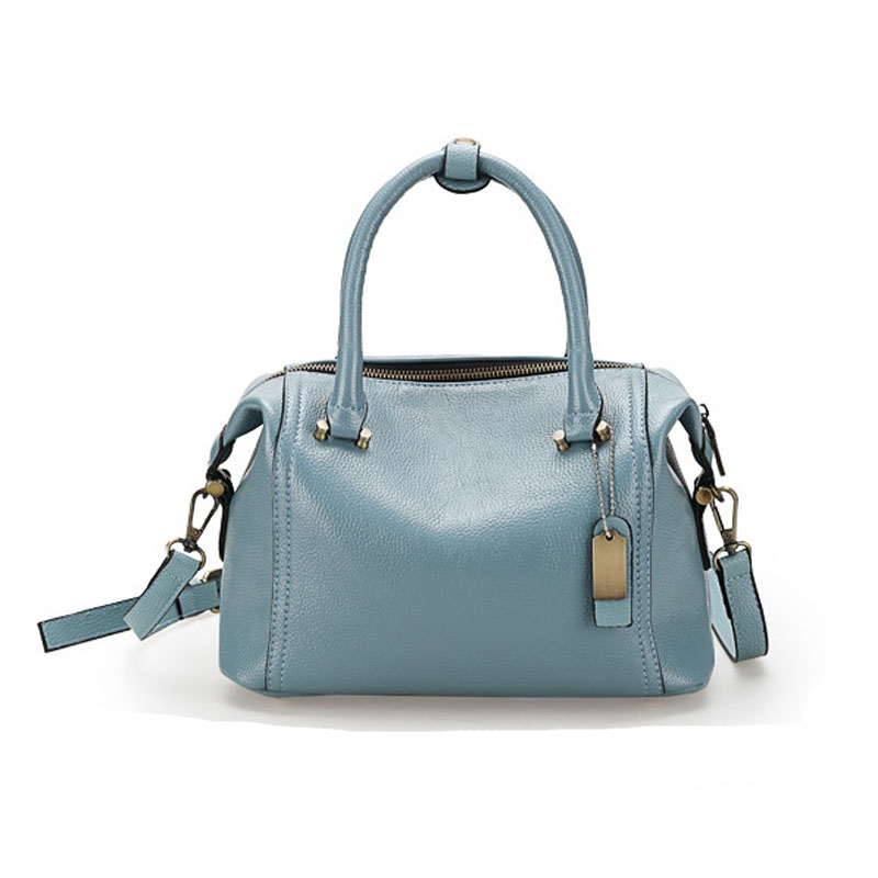 Boston woman summer hand bags handbags women famous brands bao bao soft leather handbag bolso mujer sac a main femme de marque(China (Mainland))