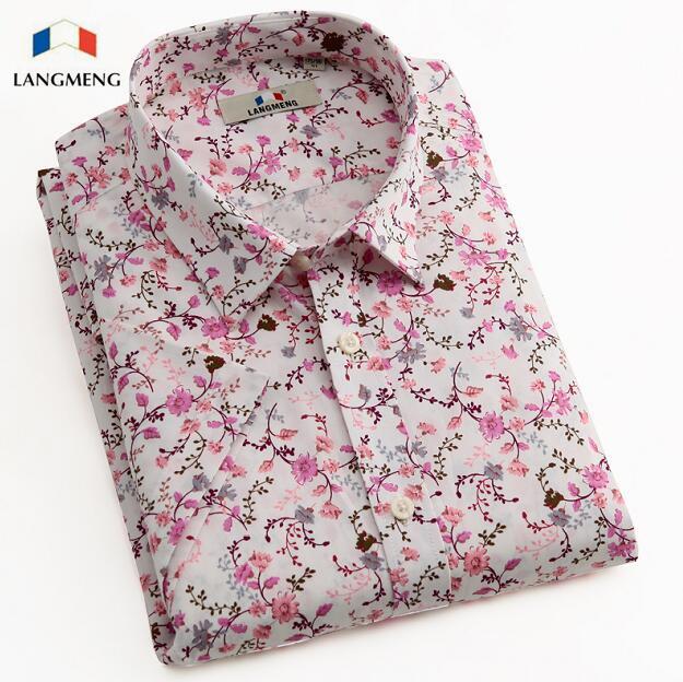 Luxury Brand Summer Style Short Sleeve Floral Shirt Slim Fit Men Clothing Chemise Designer Fancy Hawaiian Shirt Male Blouse(China (Mainland))