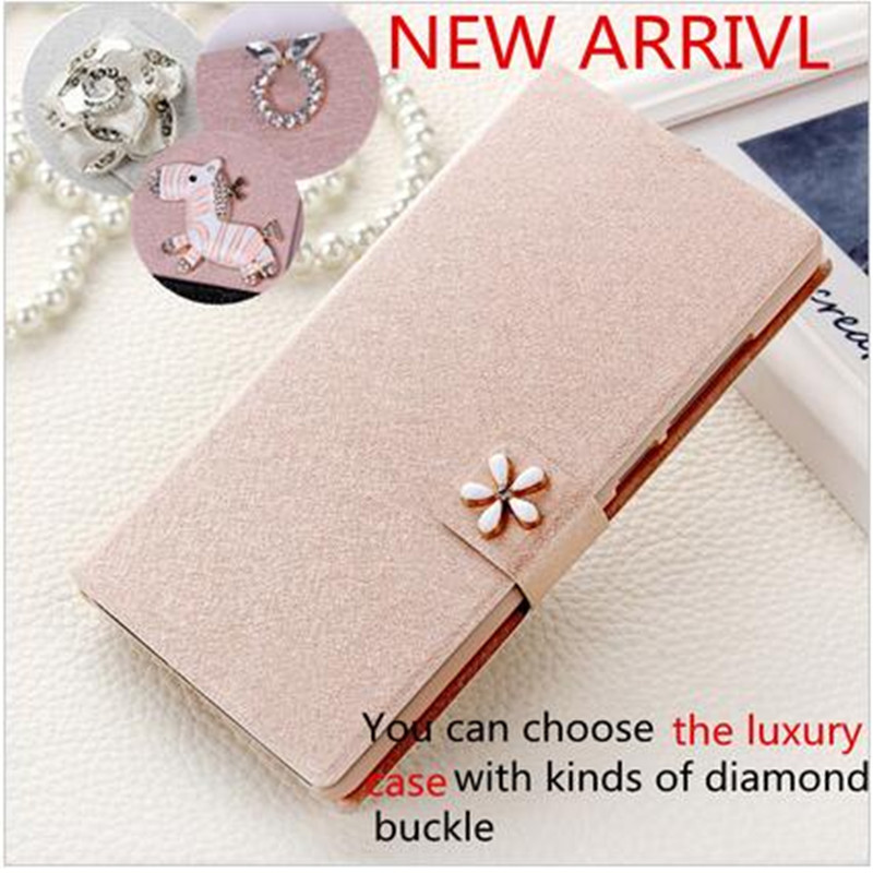 ZTE Geek 2 Case,Diamond Gold Corner Flip Leather Back Case Cover For ZTE Geek II Phone Cases(China (Mainland))