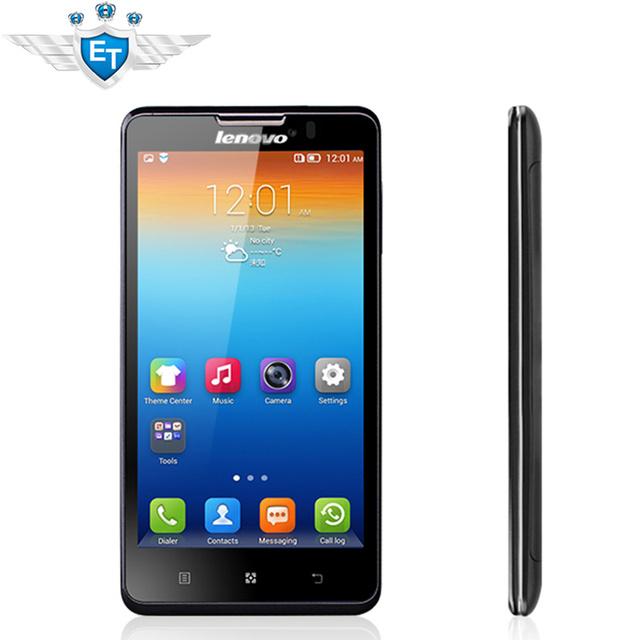 """Оригинал Lenovo P780 сотовых телефонов MTK6589 четырехъядерных процессоров 5 """" 1280 x 720 android-автомобиля 4.2 горилла Glass1280x720 1 ГБ рам 8.0MP 4000 мАч аккумулятор"""