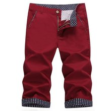2015 Men s casual shorts male summer tide Slim 7 points in five men in pants