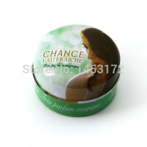 France 100% Original Perfume Solid Perfume And Fragrance Of Brand Originals Green Chance 15G Sexy Lady 2015 New Women(China (Mainland))