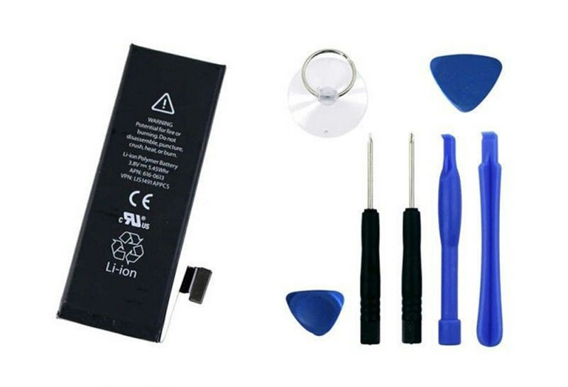 100 Original Replacement Battery For IPHONE iphone 5 1440mAh 3 7V Lithium polymer with tools for