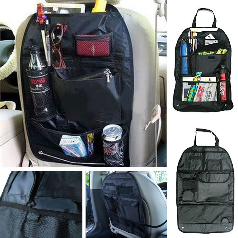 Kimisohand Hot Sale New Car Auto Care Seat Protector Cover Storage Bag Pouch For Children Kick Mat Mud(China (Mainland))