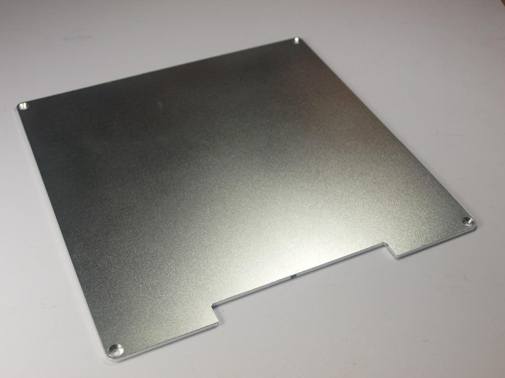 Reprap Prusa i3 3D printer parts Anodized Aluminum BUILD PLATE for Heated Bed 3D Printer RepRap Prusa Makerbot