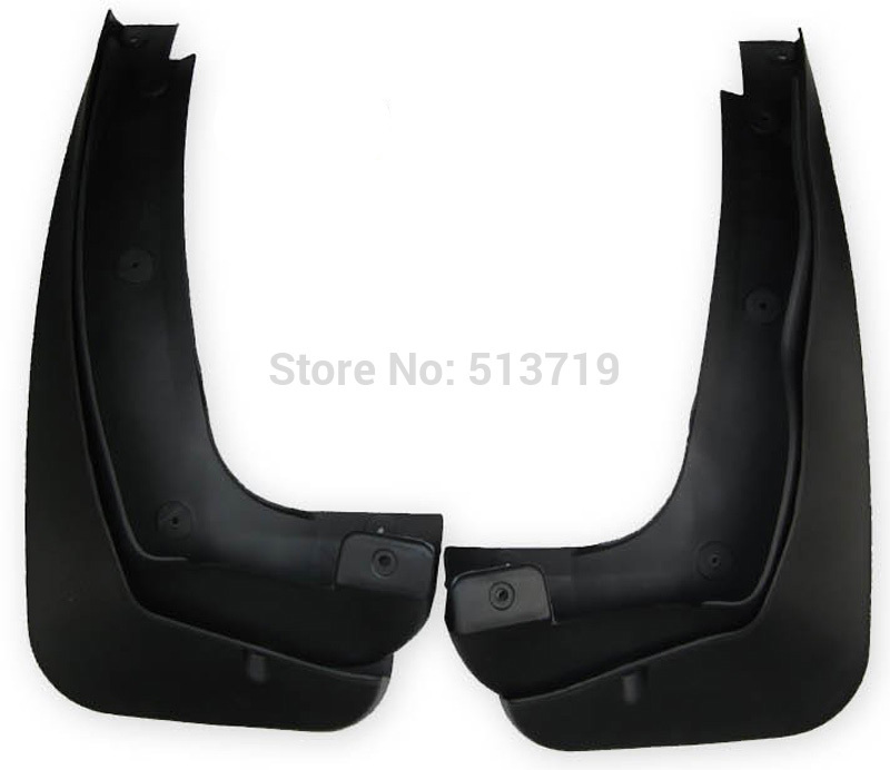 1set Mud Flaps Splash Guards 4 Door Front and Rear Fenders For BMW X3 F25 2011 2012 2013<br><br>Aliexpress