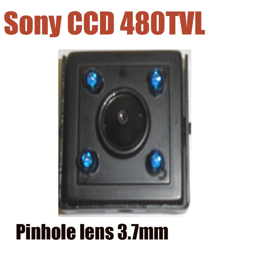 1/3'' Sony CCD 480TVL Ultra mini Security Camera indoor Surveillance system pinhole lens camera(China (Mainland))