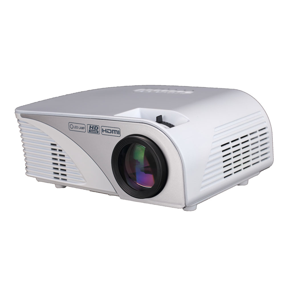 2016 new led home theater projector mulitmedia cinema mini for Hd projector small