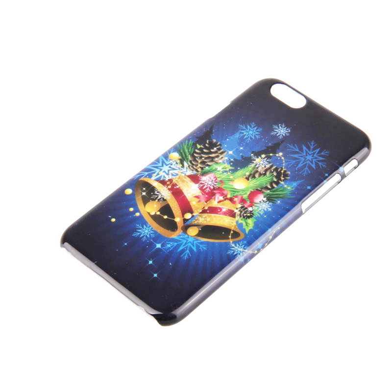 Golden bells phone case for iphone6 christmas theme protecting casing PC phone cover new new year phone skins for iphone 6/6s(China (Mainland))