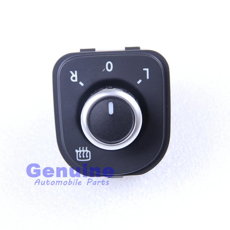 VW Jetta MK5 MK6 Golf Mk5 Mk6 Rabbit Passat B6 Tiguan models Use OEM Chrome Mirror Adjust Knob Switch 5ND 959 565 B(China (Mainland))