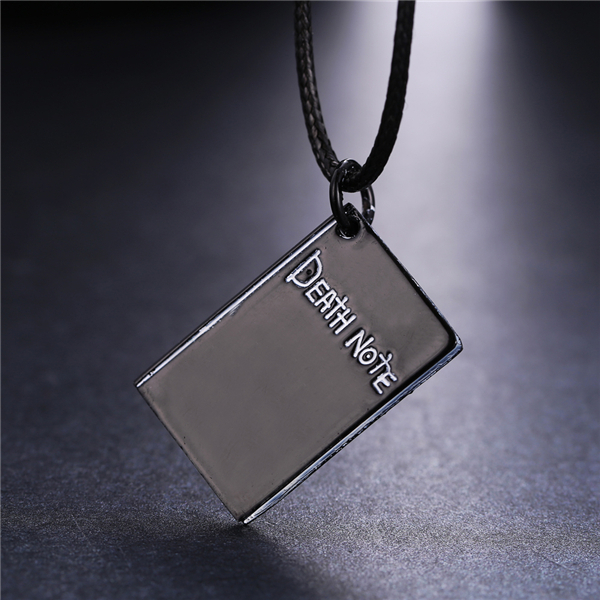 MOSU 20/pcs a lot Hot Anime Death Note Silver Metal Necklace Book Logo Pendant Cosplay Accessories Jewelry can Drop-shipping<br><br>Aliexpress