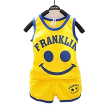 2015 new Children clothing set girls clothing boy t shirt pants undershirt Shorts kids pajama set