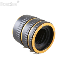 Buy New AF Auto Focus Macro Extension Tube Ring Mount Canon EOS 550D 1100D 1000D 5D3 650D 600D DSLR Camera Lens Adapter for $14.22 in AliExpress store