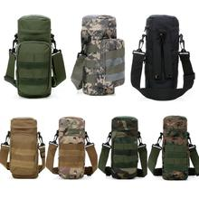 New Molle Outdoors Tactical Shoulder Bag Gear Water Bottle Pouch Kettle Waist Backpack For Army Fans Guaranteed 100%(China (Mainland))