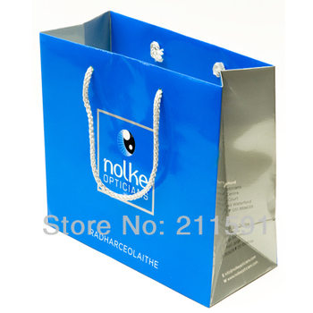 Customized Paper Bags, Paper Bags with Logo, Paper Bags Printing, 210gsm, Glossy Lamination, 1000pcs/lot