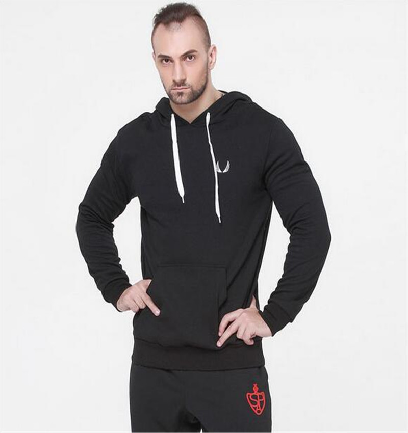 Hot sales Gymshark Fitness hoodies Fashion Trend Women/Men cotton pullover Sweatshirts fleece outerwear(China (Mainland))