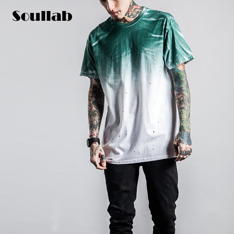 fashion 2016 shaded mens top tees tshirt t-shirt t shirt changing color hip hop urban cool summer beach clothing Justin bieber(China (Mainland))