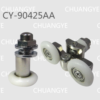 Гаджет  Wholesale supply show door pulley .bathroom wheel CY-90425AA(Aset include 4double roller and 4single roller ) None Строительство и Недвижимость
