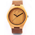REDEAR New Hot Men s Wolf Totem Wooden Watch Classic Retro Wood Wooden Watch Leather Strap