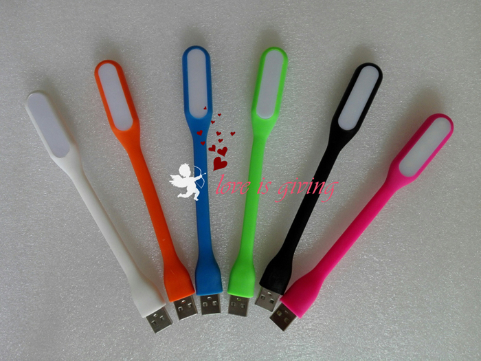 Top Quality Xiaomi Portable USB LED Light Flexible Silicone 5V 1 2A 5 Color USB Lamp