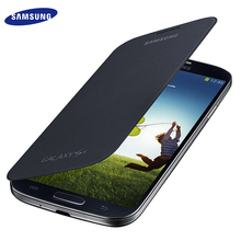 Buy 100% Original Samsung S4 Flip Cases Slim Leather Battery House Holster Cover Samsung Galaxy s4 I9500 Case Protective Shell for $5.29 in AliExpress store