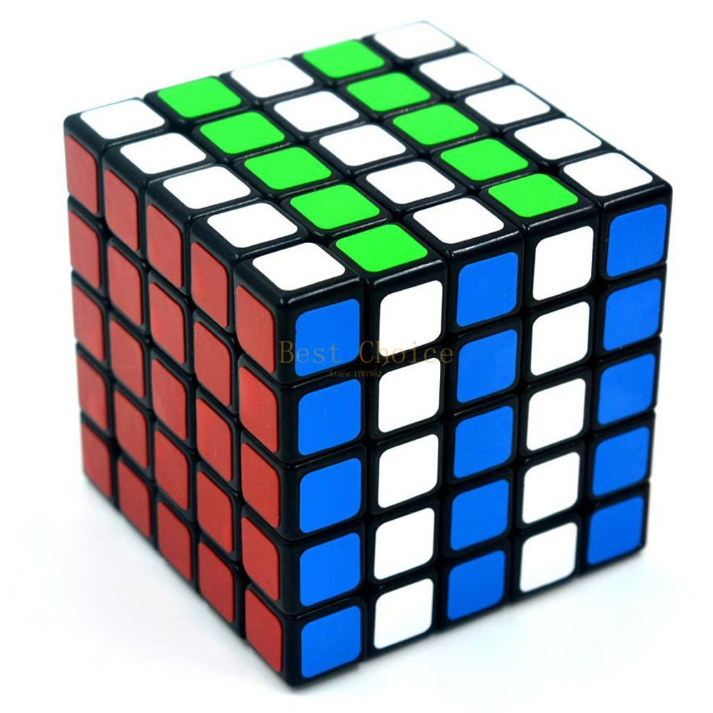 Shengshou 57mm 5X5X5 Speed Cube 5X5 Magic Cube ABS Ultra-smooth Cubo Puzzle Matte Sticker Twist Educational Toy for Kids(China (Mainland))