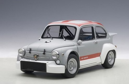 AUTOART 1/18 ABARTH die edge Fang Fiat 1000 TCR (gray / red)(China (Mainland))